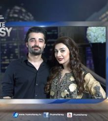 Aisha Khan & Hamza Ali Abbasi On #ToniteWithHSY – (Watch Promo)