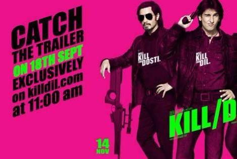 KILL DIL starring Ali Zafar, Ranveer Singh, Govinda