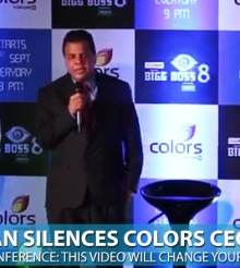 Salman Khan Stops Bigg Boss 8 Press Conference for Azaan (Watch Video)
