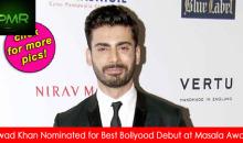 Fawad Khan wins 'Best Bollywood Debut' at Masala Awards 2014