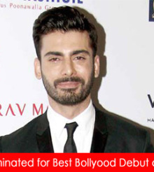 Fawad Khan named for Best Bollywood Debut at Masala Awards