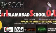 Soch live in Islamabad School Of Law on 28 Nov, 2014
