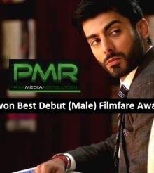 Fawad Khan won Best Debut (Male) Filmfare Award for Khoobsurat