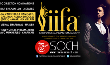Soch nominated for IIFA – 4th Nomination for the band Soch this year in India for Awari