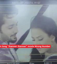 "Tooba Siddiqui in Song ""Jhannan Jhannan"" movie Wrong Number"