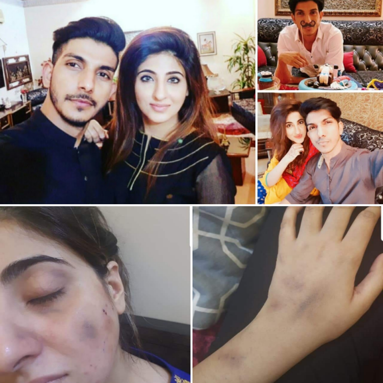Mohsin Abbas Haider Cheated and Physically Abused his pregnant ...
